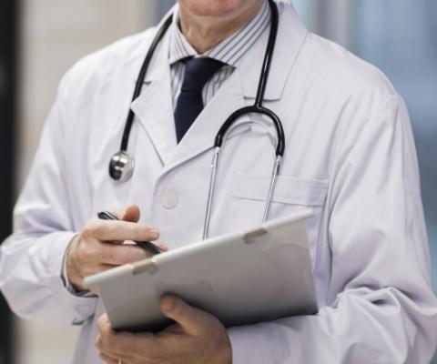 lekarz zdługopisem